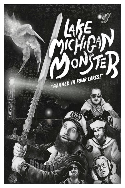 Lake Michigan Monster Poster