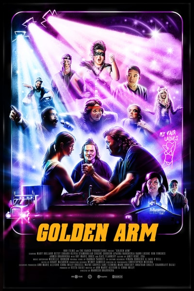 Golden Arm Poster